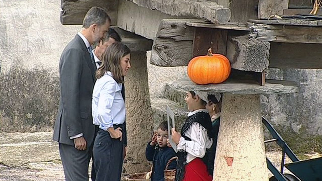 Un parlamento de luto.Los Reyes en Mual