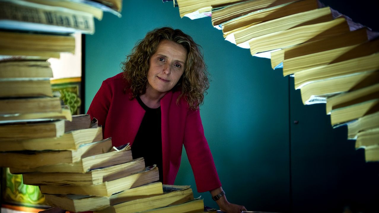 Sandra Barral, ciencia coruñesa en Nueva York