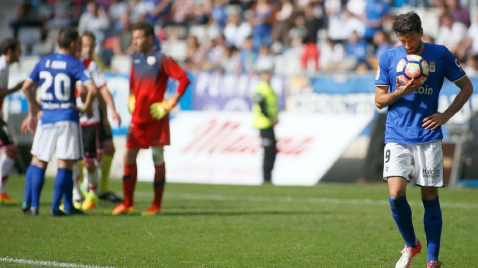 Toché durante el partido frente al Rayo Vallecano