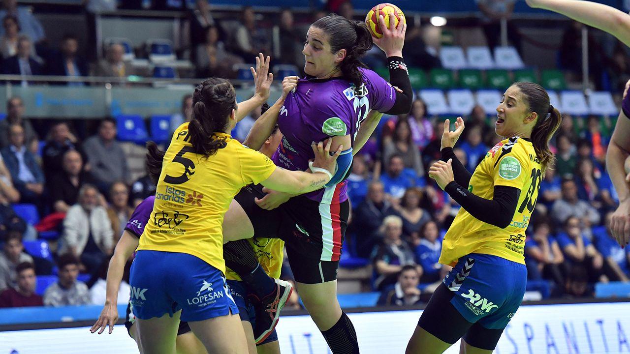 .El Mavi Gijón se clasifica para las semifinales de la Copa de la Reina de balonmano