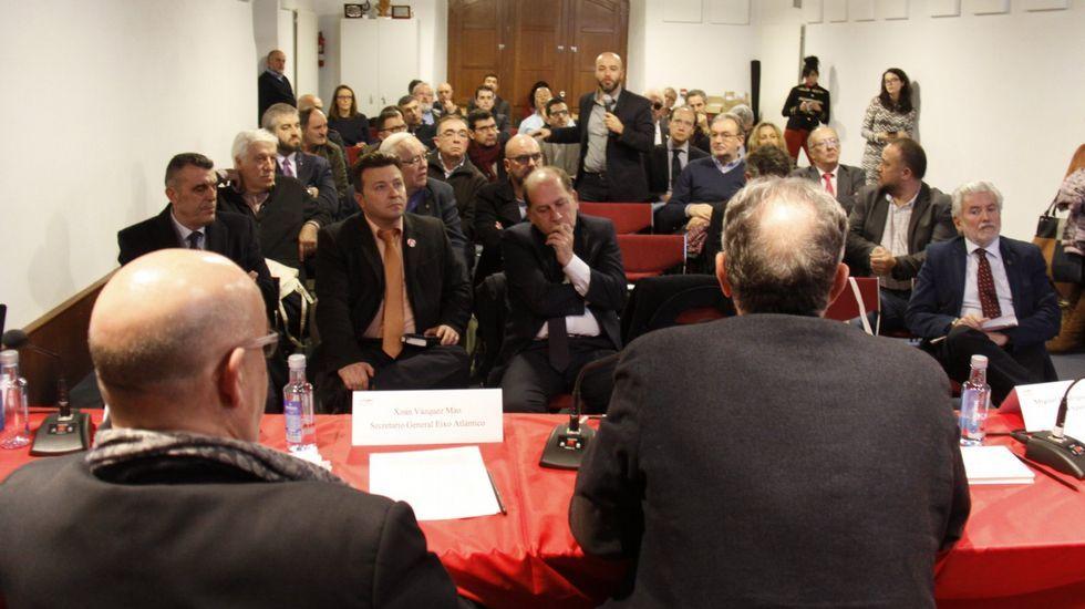 En marzo hubo una cumbre sobre el corredor ferroviario en O Barco