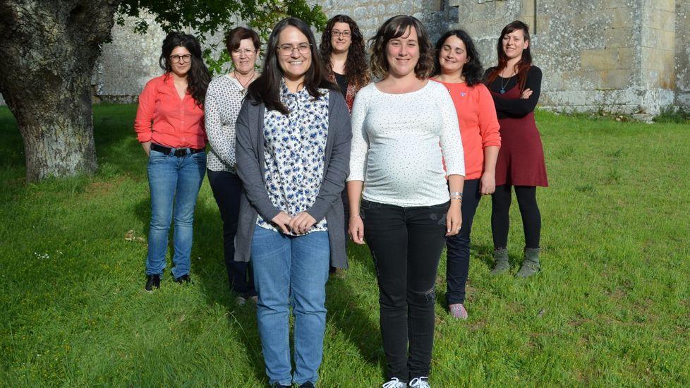Foto de la candidatura de Agroma Sober, formada íntegramente por mujeres