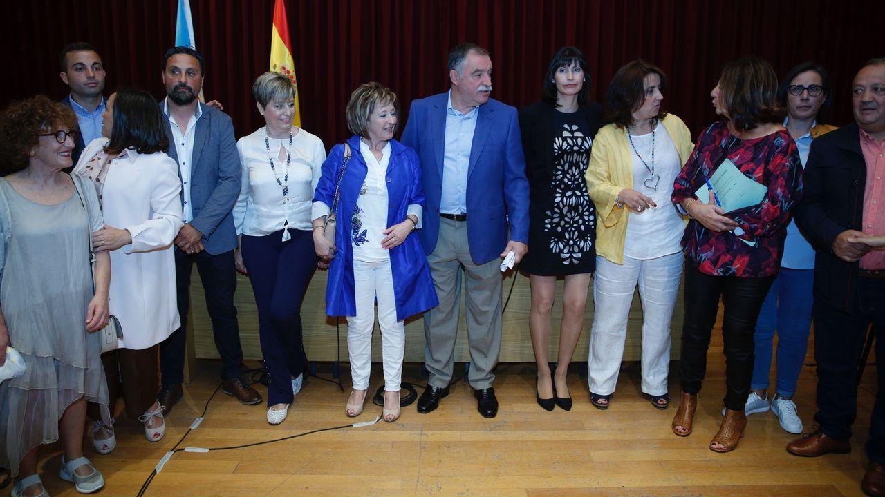 oleiros gelo.Toma de posesión de Lara Méndez como alcaldesa de Vigo