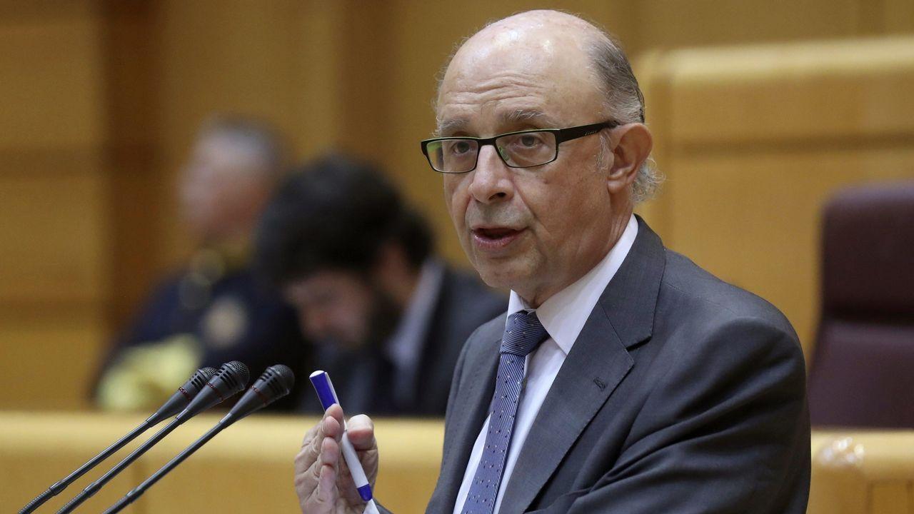 ¿En qué va a cambiar tu plan de pensiones?.El ministro de Hacienda, Luis de Guindos, compareciendo en el Pleno