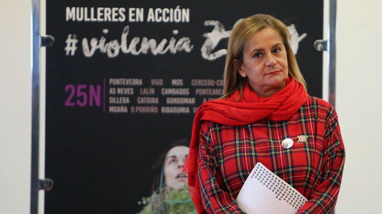 El 'Rey del cachopo' guarda silencio ante la jueza.Juzgados de Oviedo