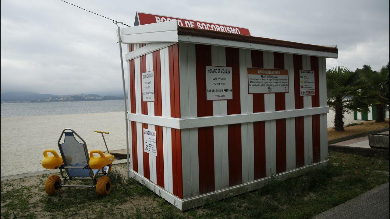 El Ventura, atracado en A Coruña.Accidente en tercera ronda