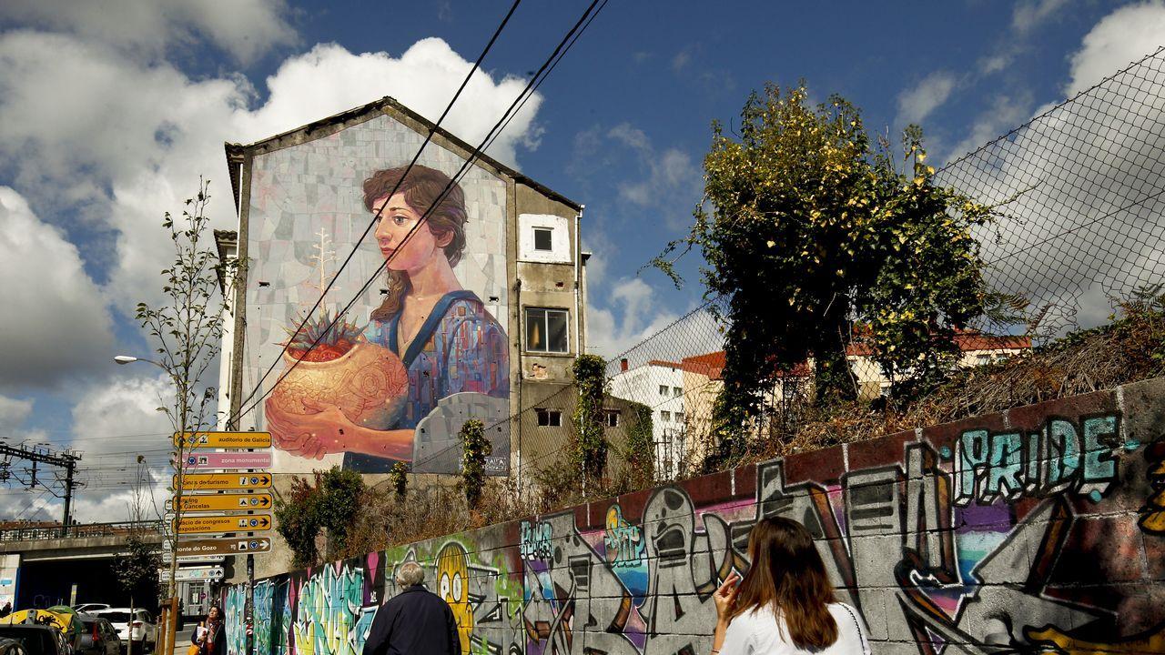 Arte mural en Santiago