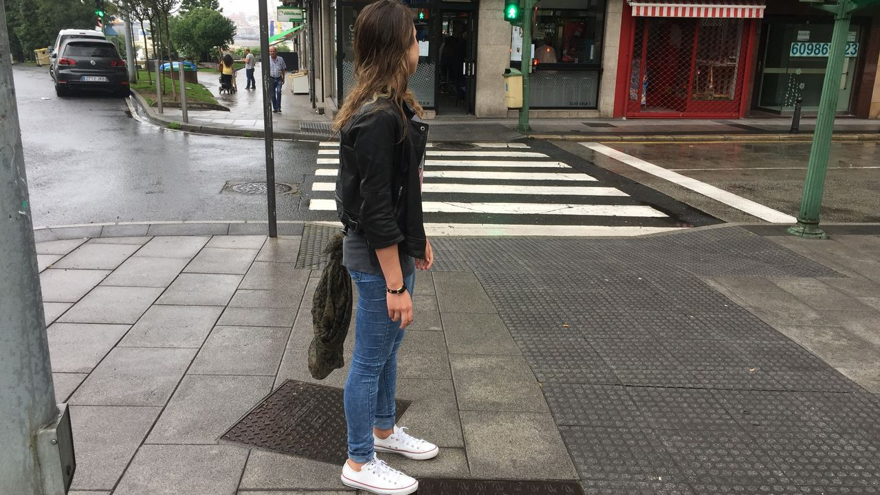 Inundaciones en A Coruña.Plataforma Non Máis Pintadas.