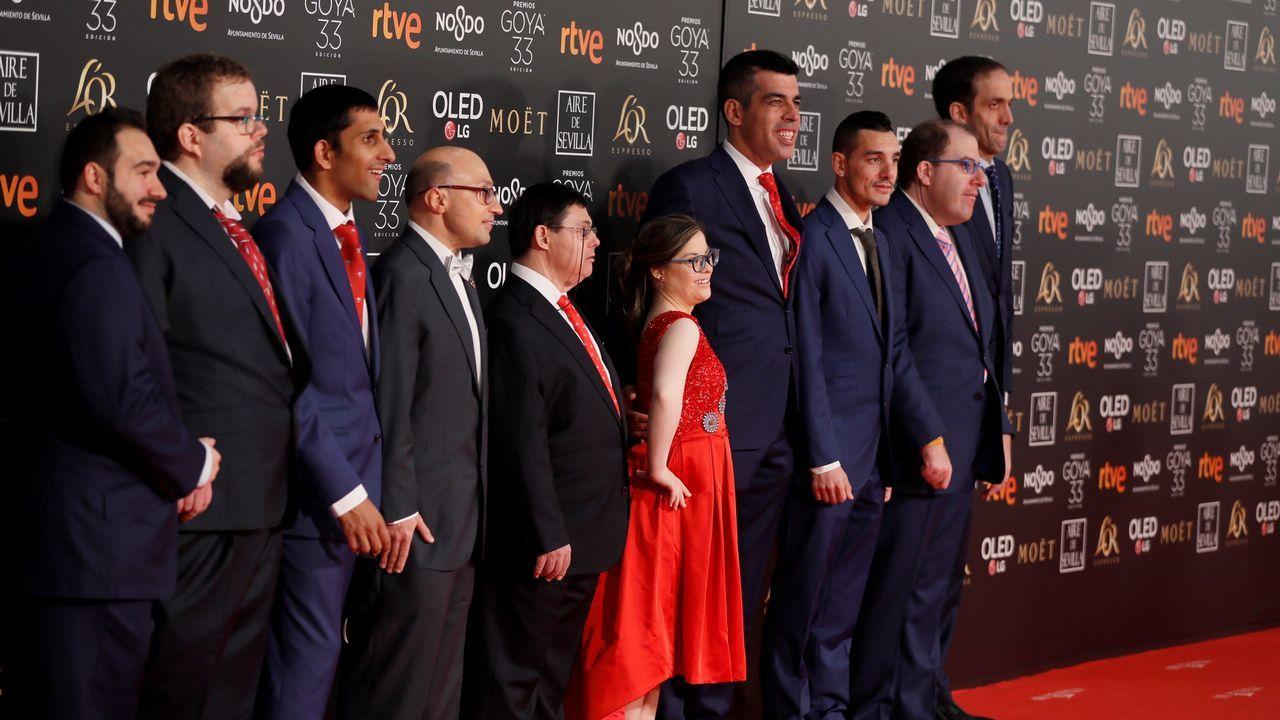 El equipo de la película «Campeones»