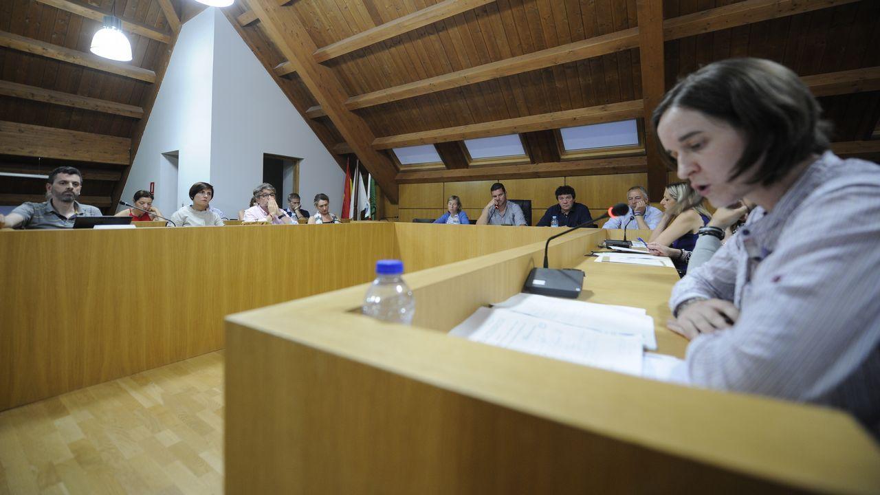 Rajoy, a la derecha del tribunal.Miguel Ángel Ruiz, exviceconsejero madrileño de Medio Ambiente