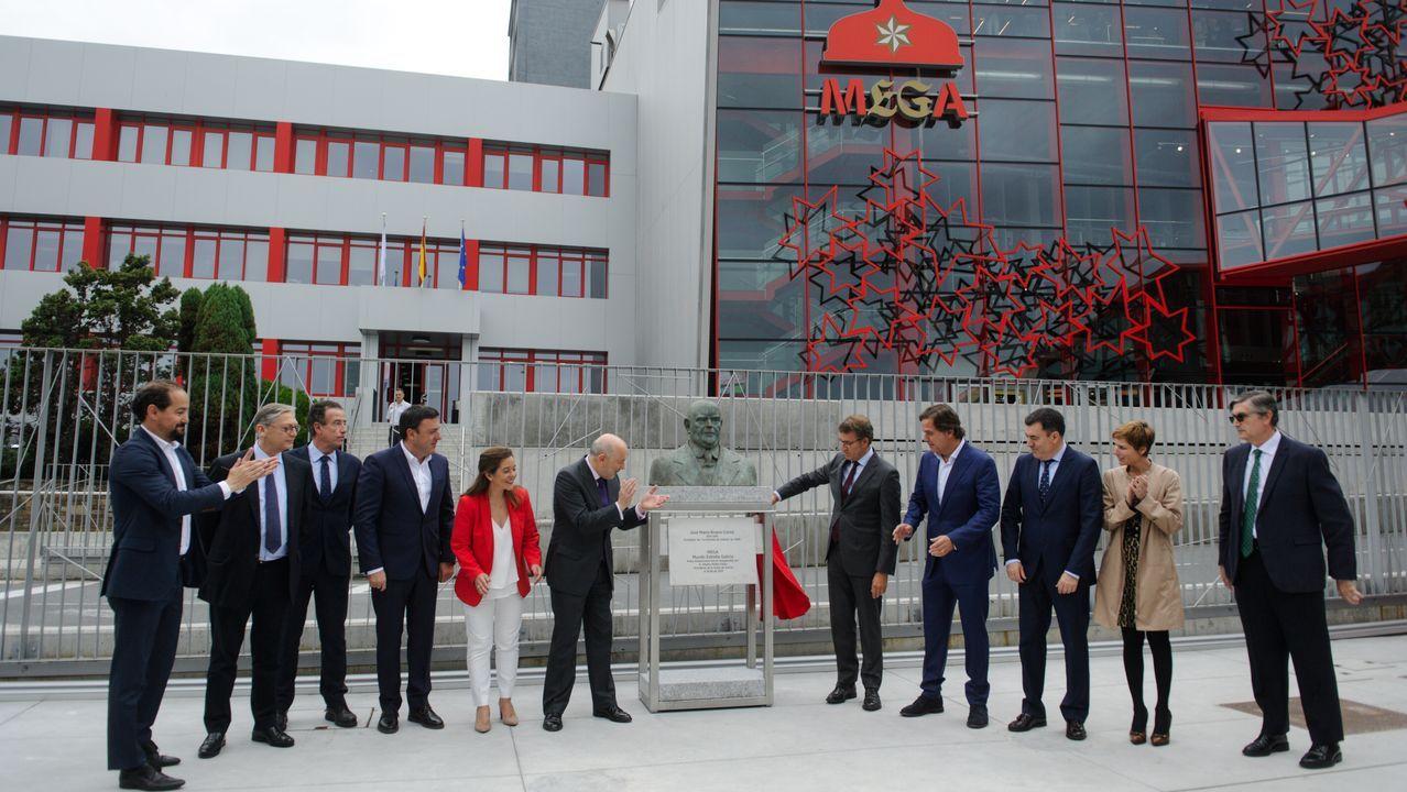 Inauguración museo Estrella Galicia