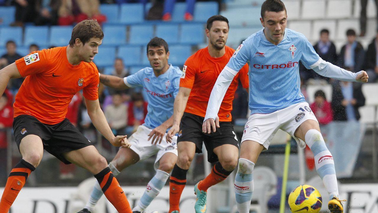 140 - Celta-Real Sociedad (1-1) el 26 de enero del 2013