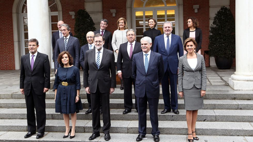 El nuevo Gobierno comienza su andadura.Javier Fernández y Guillermo Martínez