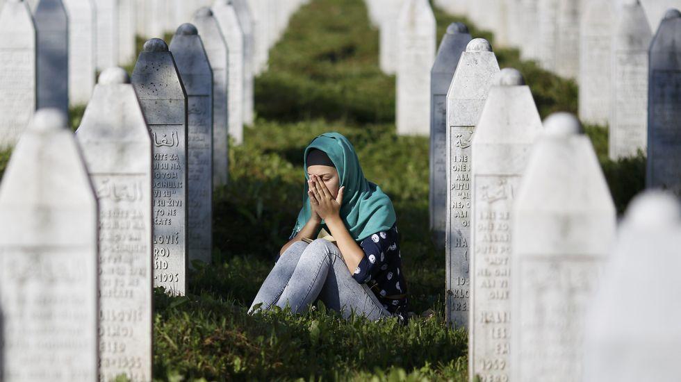 Vigésimo aniversario de la tragedia de Srebrenica.