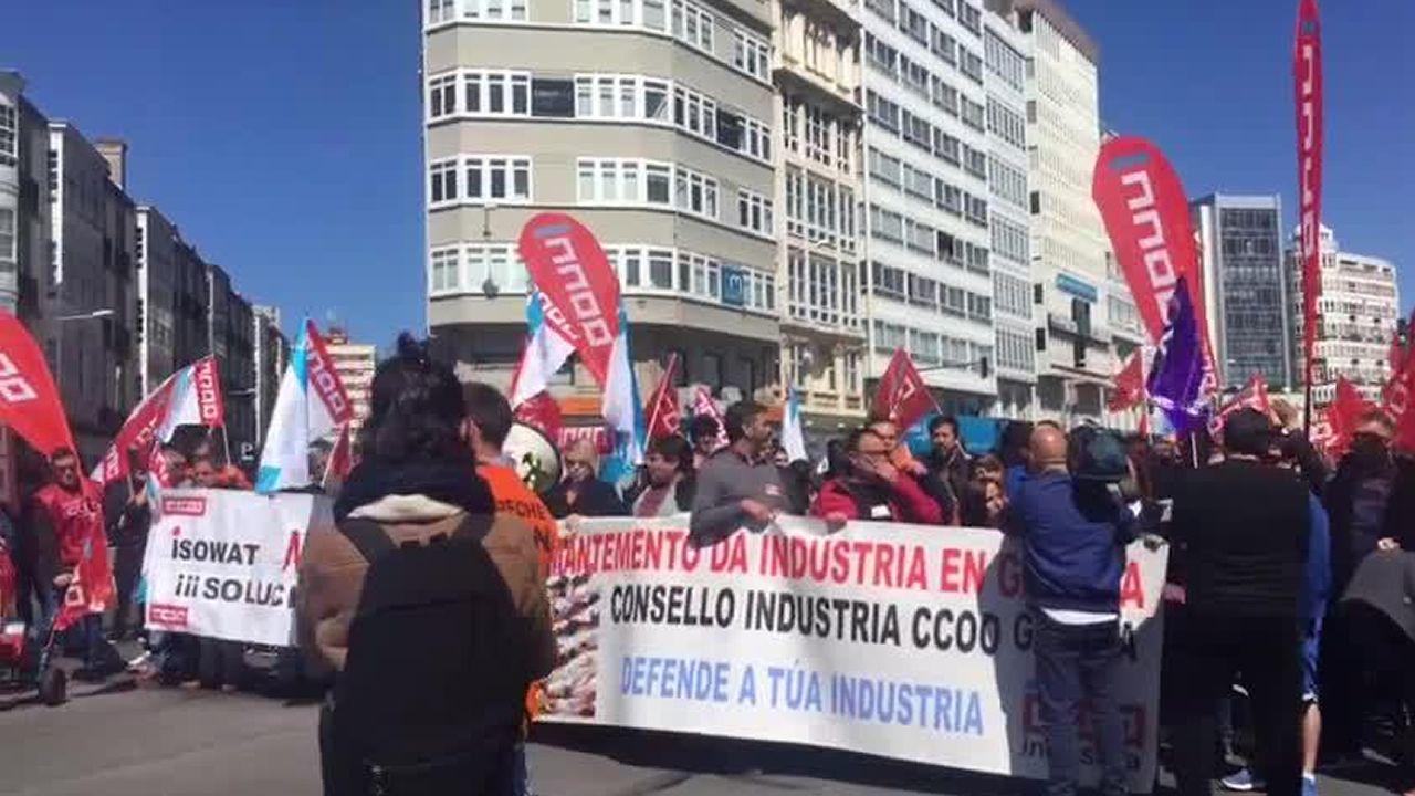 La industria coruñesa exige entrar en los programas electorales