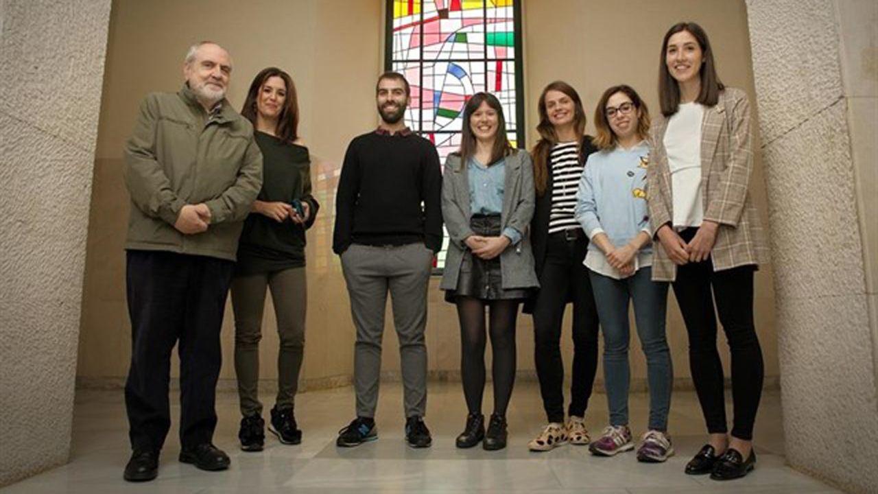 Estudiantes de Humanidades de la Universidad de Oviedo.Miembros de la Unidad Clínica de Conductas Adictivas, ubicada en la Facultad de Psicología de la Universidad de Oviedo