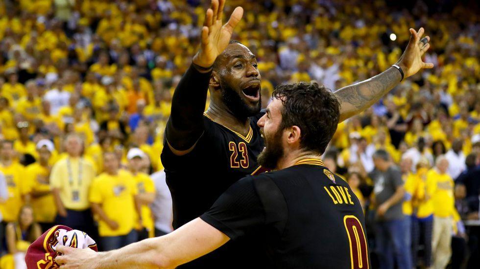 La final de la NBA, en imágenes.