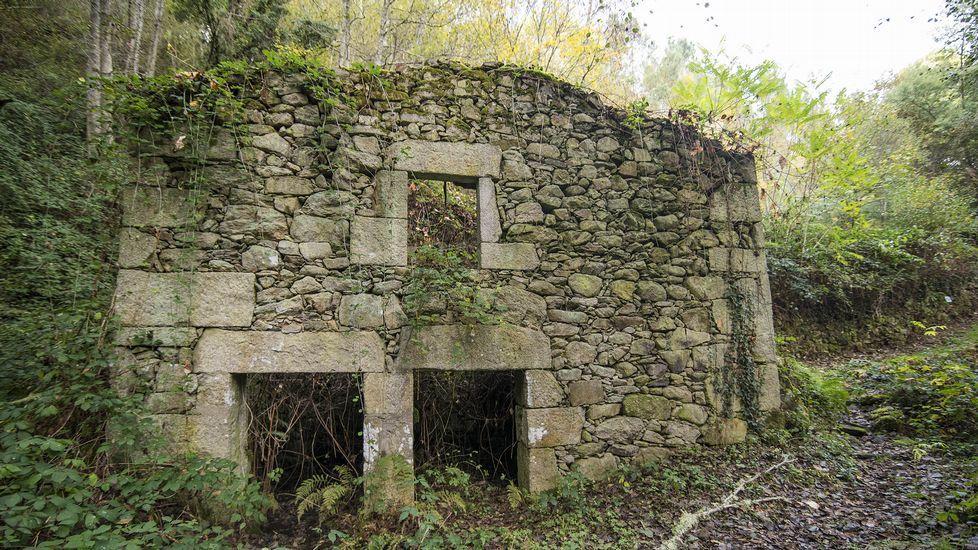 Ruinas de uno de los molinos llamados de Conde de Camilo