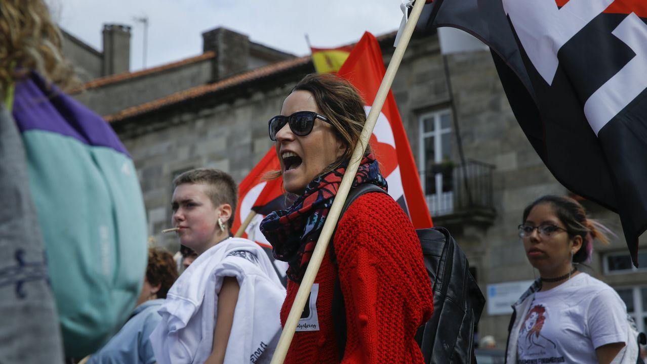 El Primero de Mayo en Compostela.José Luis Escrivá, presidente de la AIReF