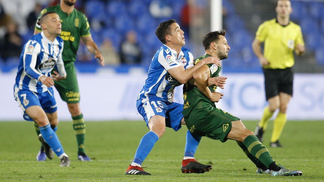 La primavera colorea Galicia.Álex Bergantiños busca esta temporada su cuarto ascenso a Primera División