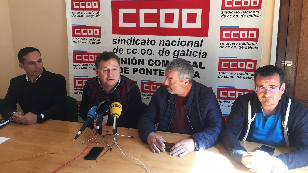 Las alamas por alerta ambiental suenan en Gijón, Carreño y Trubia.Puerto de El Musel