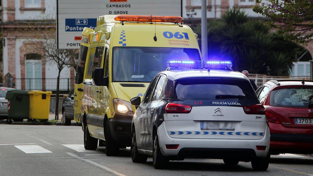 Una nueva ley obliga a cambiar a color azul las luces de los vehículos de emergencias.