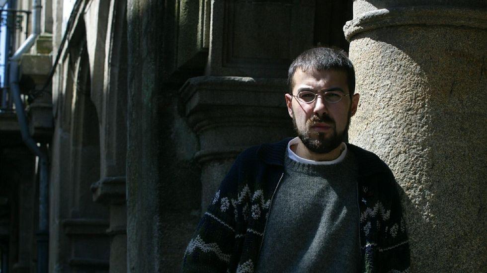 .Ramiro Santalices en una imagen de archivo del 2003, cuando fue candidato a las elecciones municipales en Santiago