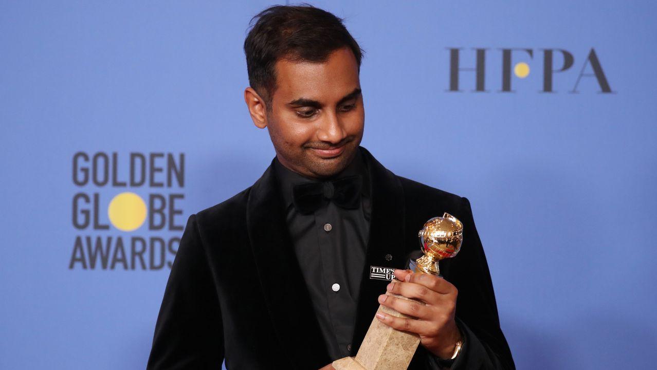 En televisión, mejor actor de comedia o musical: Aziz Ansari, por «Master of None».