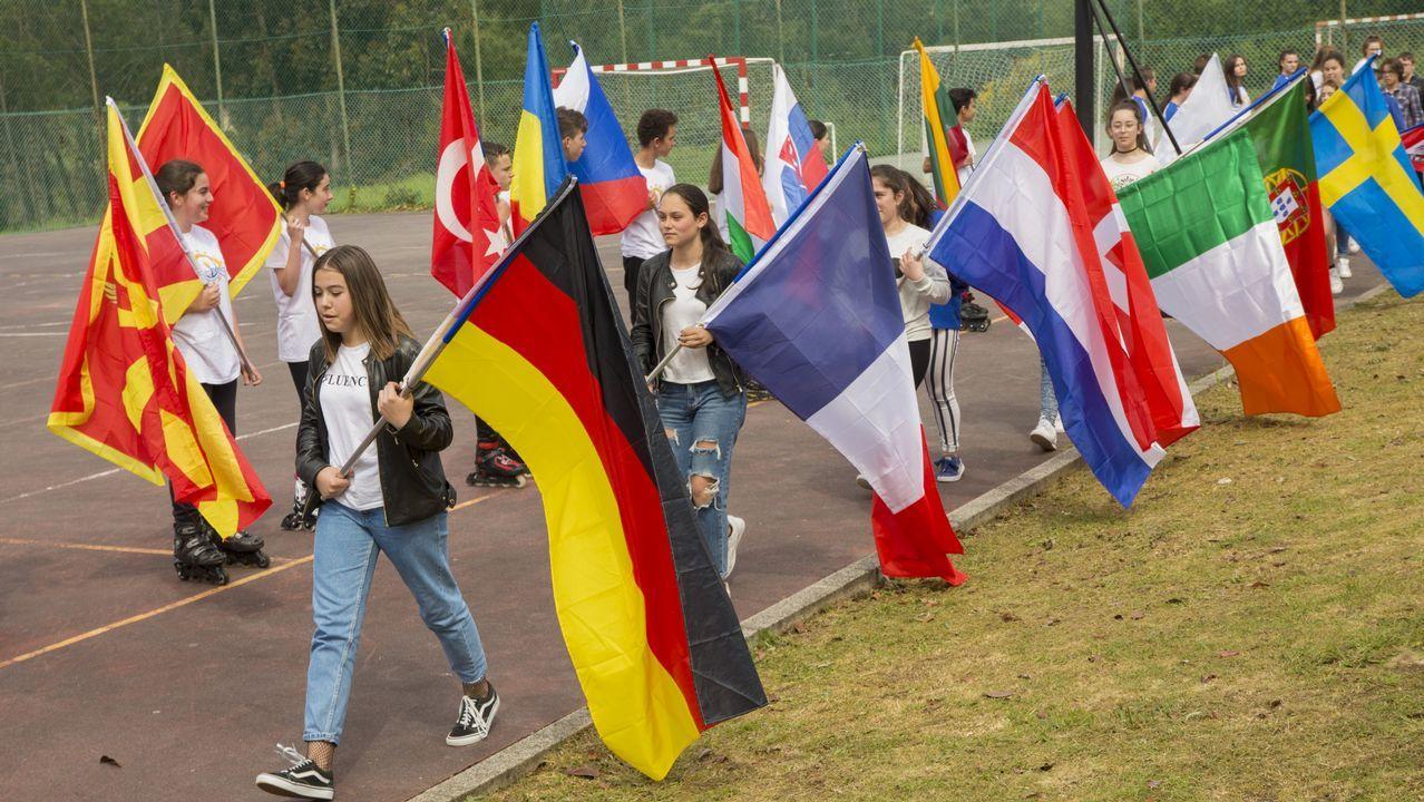 Así conmemoró el Día de Europa el IES Pedra da Aguia: ¡mira las fotos!