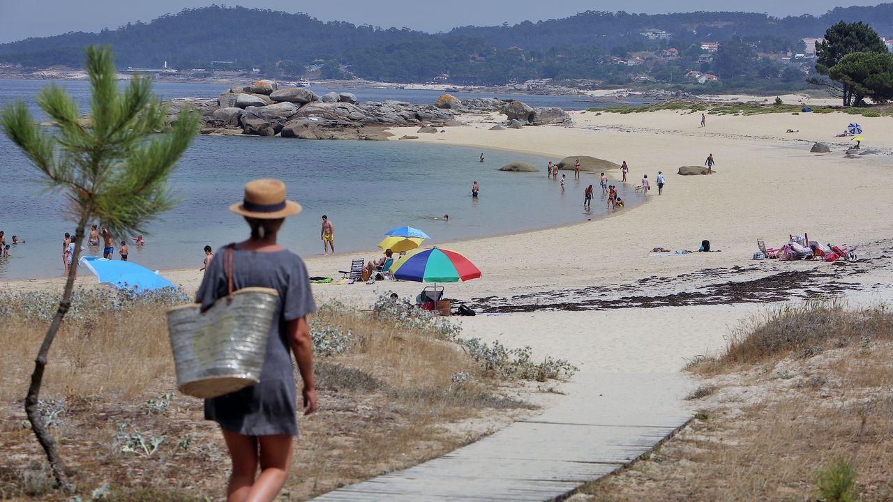 Areoso, la isla de moda en Galicia.El Arnoia. En Allariz, O Arnado y Acearrica disponen de espacios verdes a la orilla del río