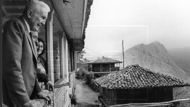 El general y héroe de la República de Cuba José Ramón «Gallego Fernández» en Asturias