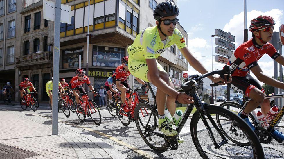 Prueba ciclista 4 Picos Clásica Evaristo Portela en Pontevedra