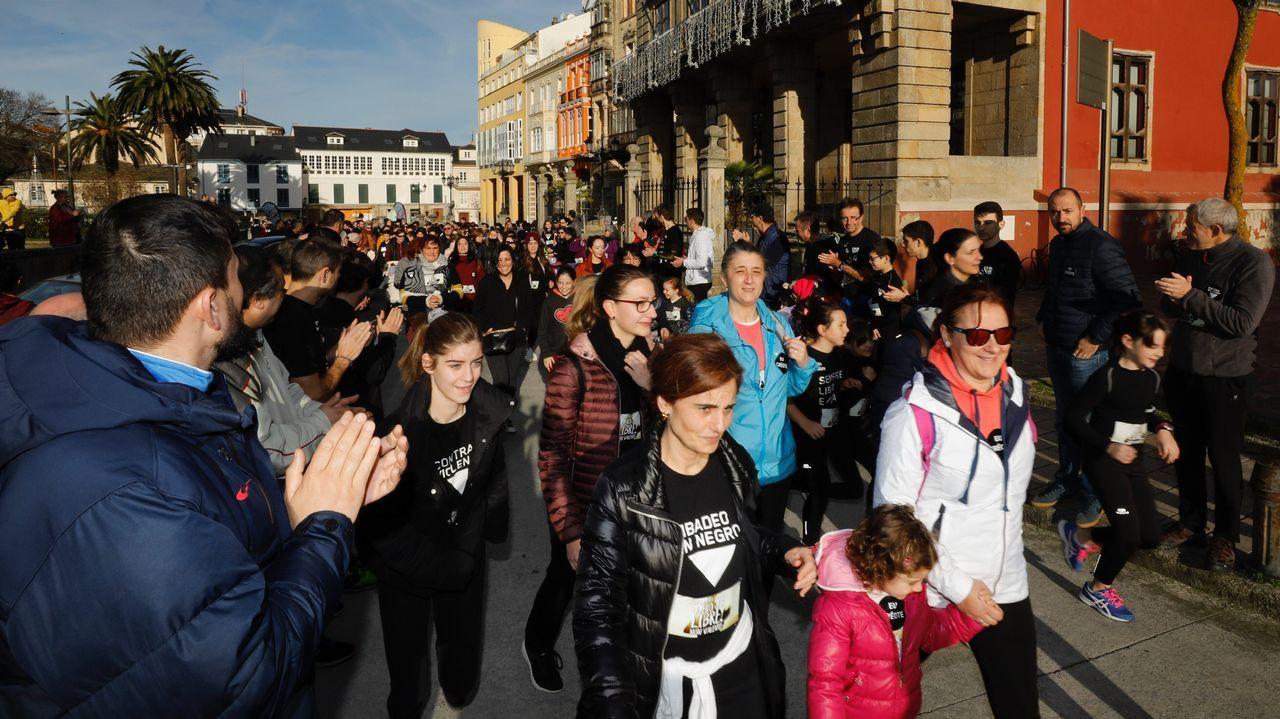 Quedadacontra la violencia de género en Ribadeo