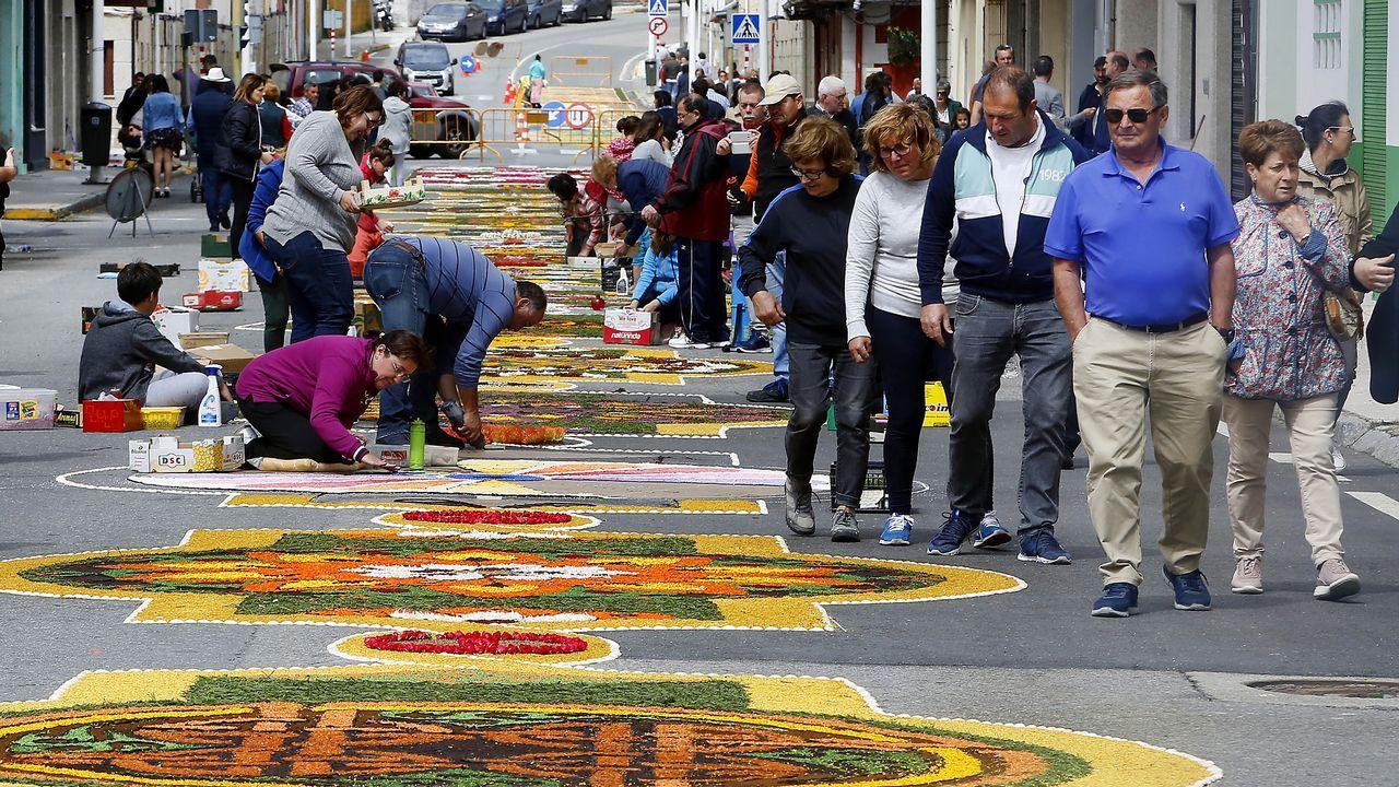 Bueu, unas alfombras de Interese Turístico de Galicia.