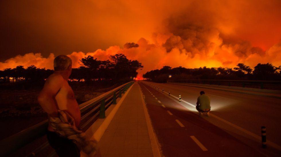 Los incendios dejan al menos 32 muertos en Portugal.