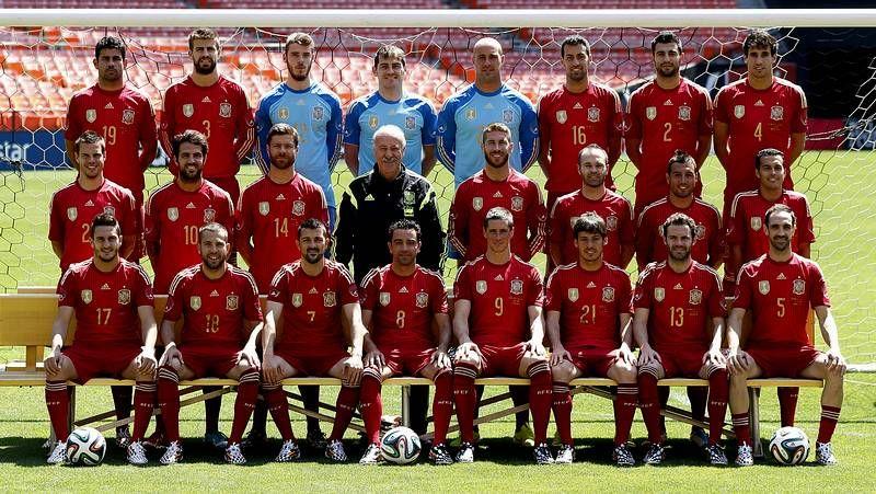 El España 0 - Chile 2, en fotos