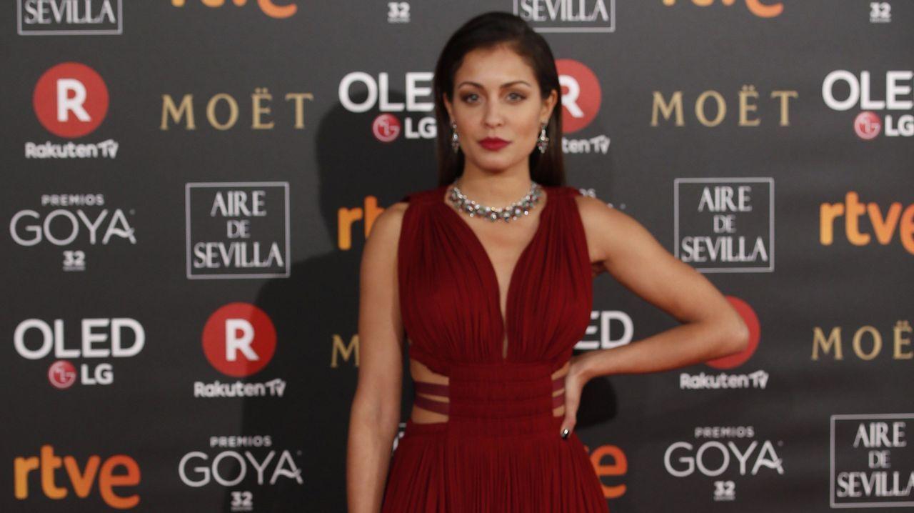 .Otra imagen de la actriz Hiba Abouk.