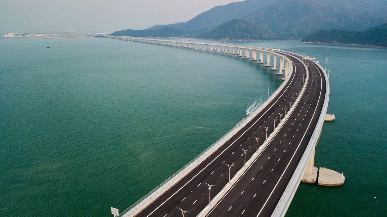 Las impresionantes cifras del mastodóntico puente chino.Pablo Alonso González, Javier Martín Sánchez y Javier Taboada Gutiérrez
