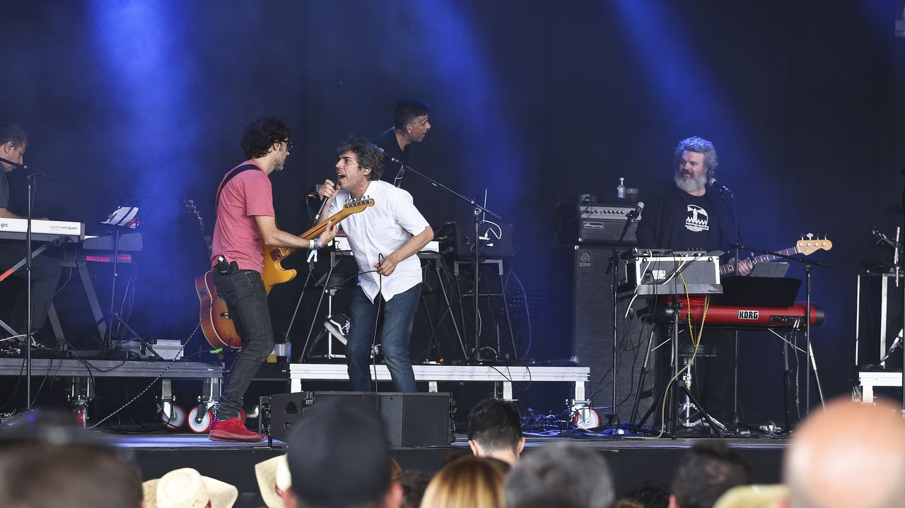 Marta Highen el festival El Mediator (Perpignan, 2017).Liam Gallagher durante concierto en el Festival Internacional de Benicàssim 2018