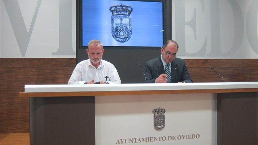 Jorge Cuesta y Graciano Amador.Jorge Cuesta y Graciano Amador