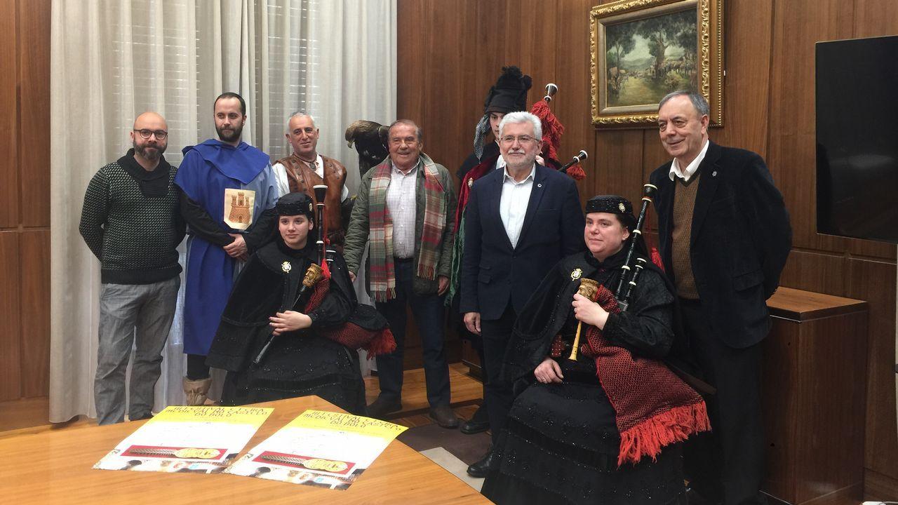CIVIL Y PENAL. De izquierda a derecha, Fernando Alañón, Juan Luis Pía, Miguel Ángel Cadenas y Pablo Sande. Son los magistrados de la Sala de lo Civil y Penal del Tribunal Superior de Xustiza de Galicia. En materia civil ellos son la última instancia, tienen la última palabra