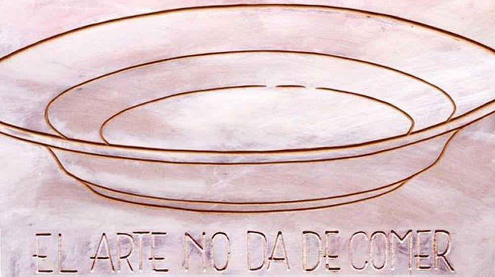 .Ricardo Mojardín. «El arte no da de comer»