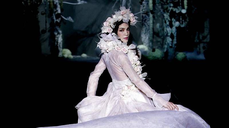 Roberto Verino inaugura la Semana de la Moda.Lapo Elkann y Kate Moss