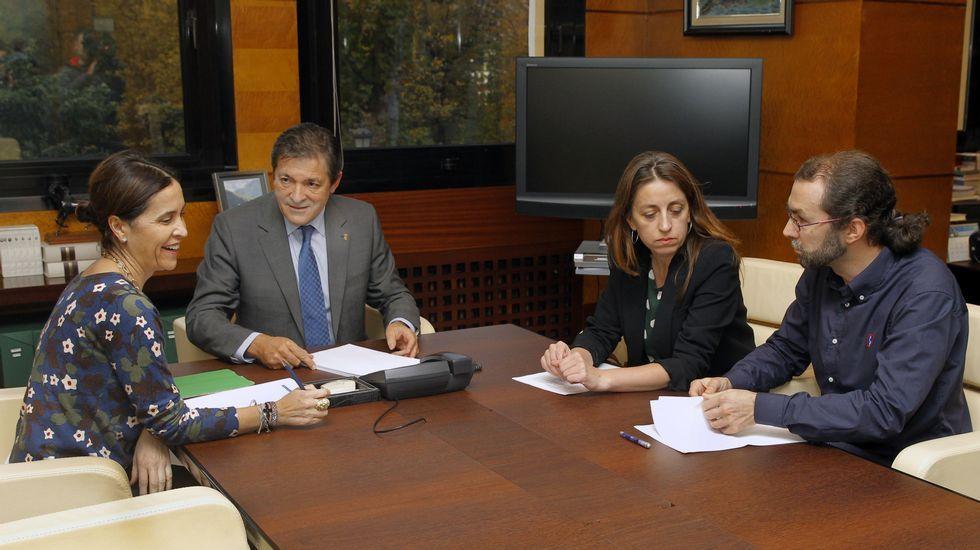 .Carcedo, Fernández, Lorena Gil y Emilio León