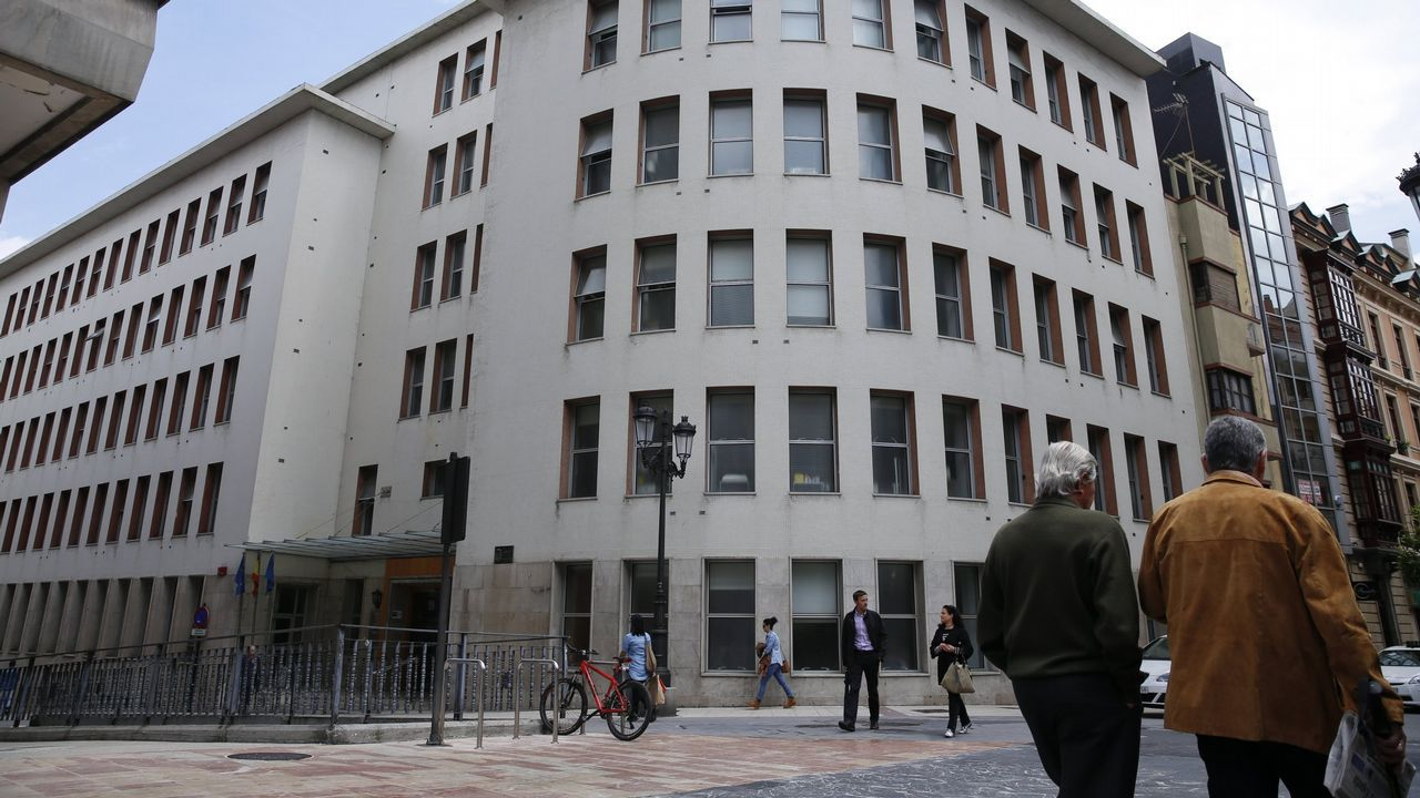 Mallada se va de mercado por Avilés.Ayuntamiento de Gijón