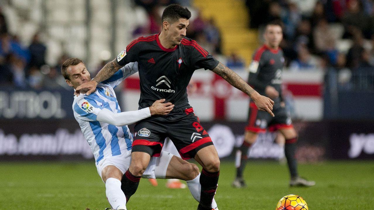 172 - Málaga-Celta (2-0) el 2 de enero del 2016