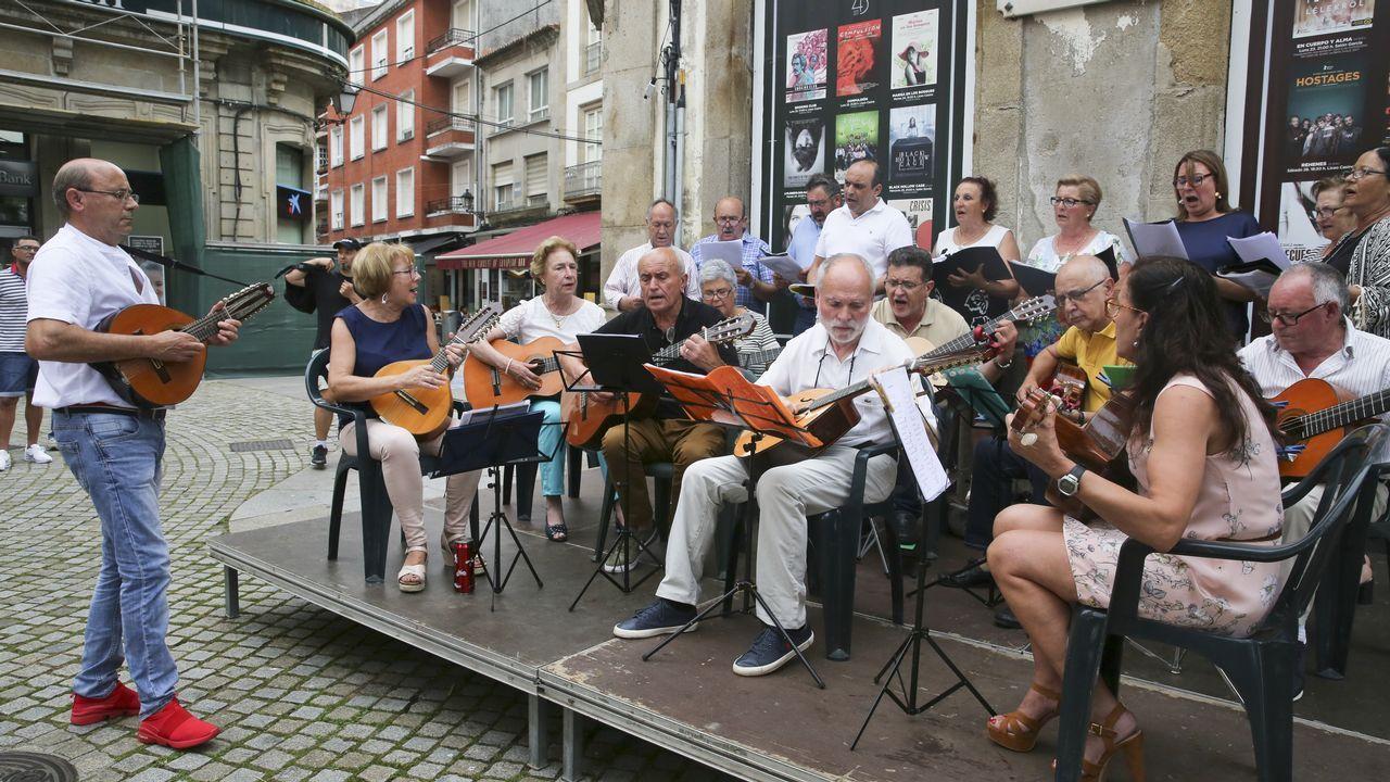 Fiesta de la música en Vilagarcía.