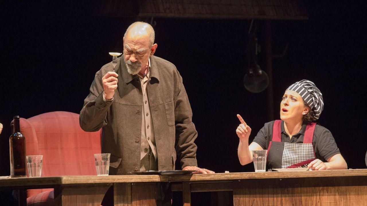 Representación de Casa O'Rei, de Ibuprofeno Teatro