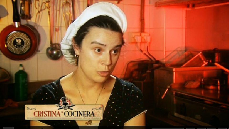 «Quédate conmigo».Cristina era la cocinera de «El Castro de Lugo».