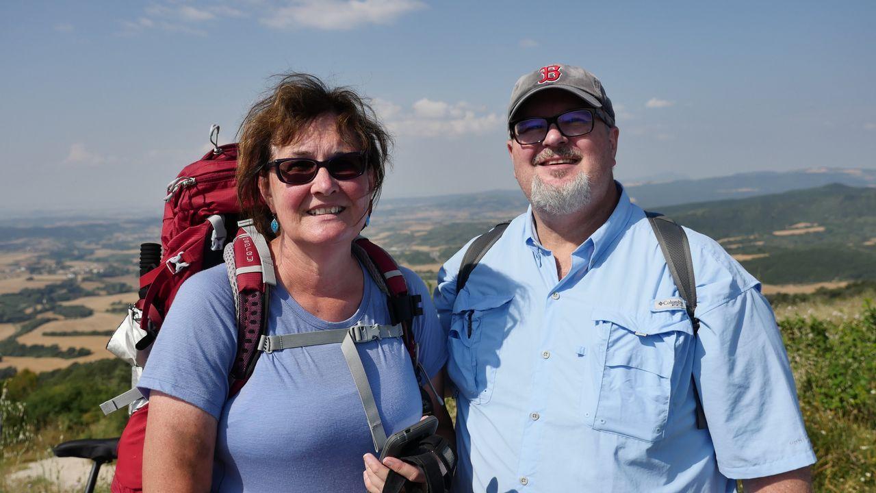 .Nancy y Cary vienen a hacer el Camino desde EE.UU.